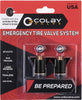 Colby Valve Emergency Valve 2-Pack