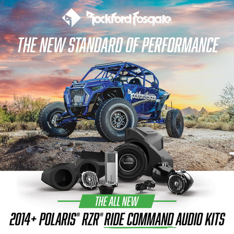 Rockford Fosgate 1,000 Watt Stage 5 Ride Command System 2014+ Polaris RZR