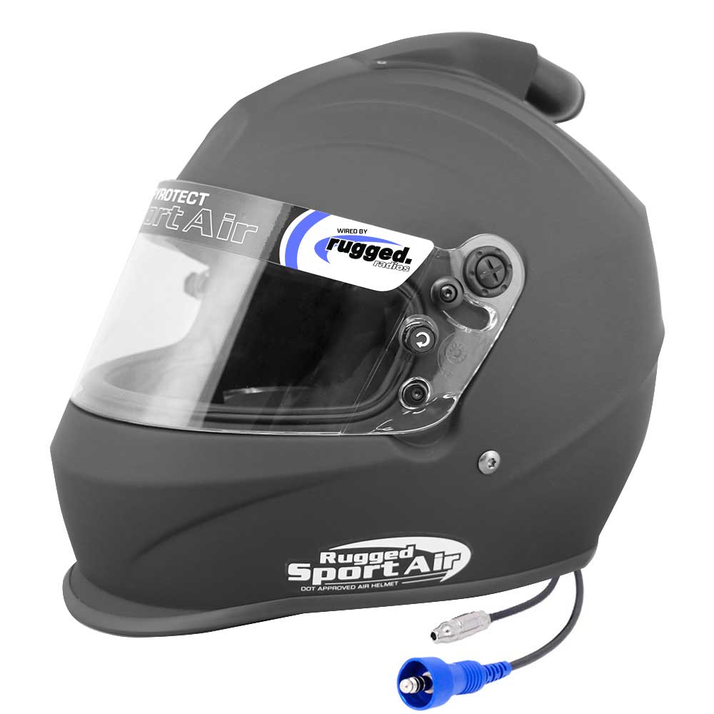 Pyrotect 'Sport Air' Top Air Helmet (DOT) - Flat Black