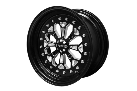 Sandcraft RCR 15″- 3 Piece Billet Nomad Aluminum Wheels