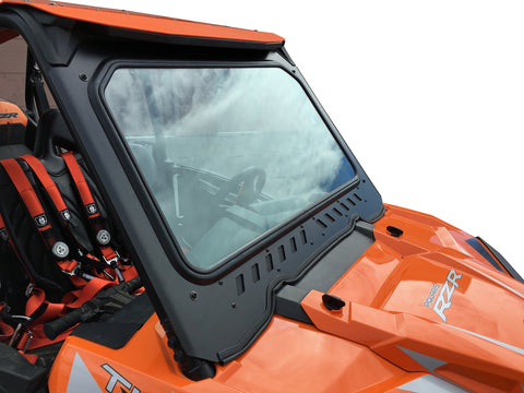 RZR FULL GLASS WINDSHIELD WITH VENTS