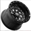 "Hostile UTV H116 JIGSAW 15"" Wheel NON Beadlock - Black Milled"