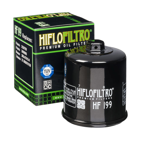 Hiflofiltro HF199 Premium Oil Filter - Polaris RZR Turbo S