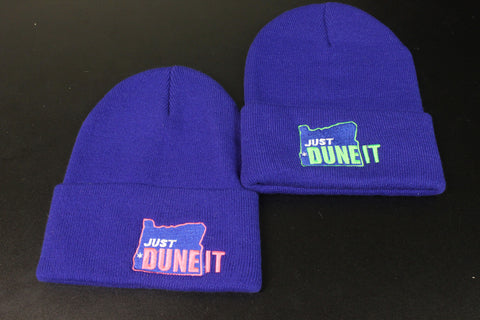 "Blue ""Just Dune It"" Beanie"