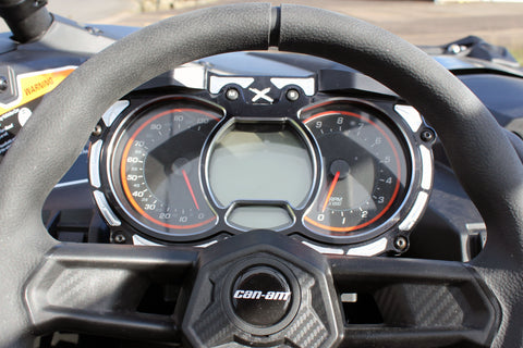 Mod Quad Dash Bezel - Can Am - Black
