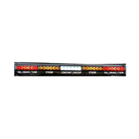 "REAR CHASE LIGHT BAR 29"" - AMBER STROBES"