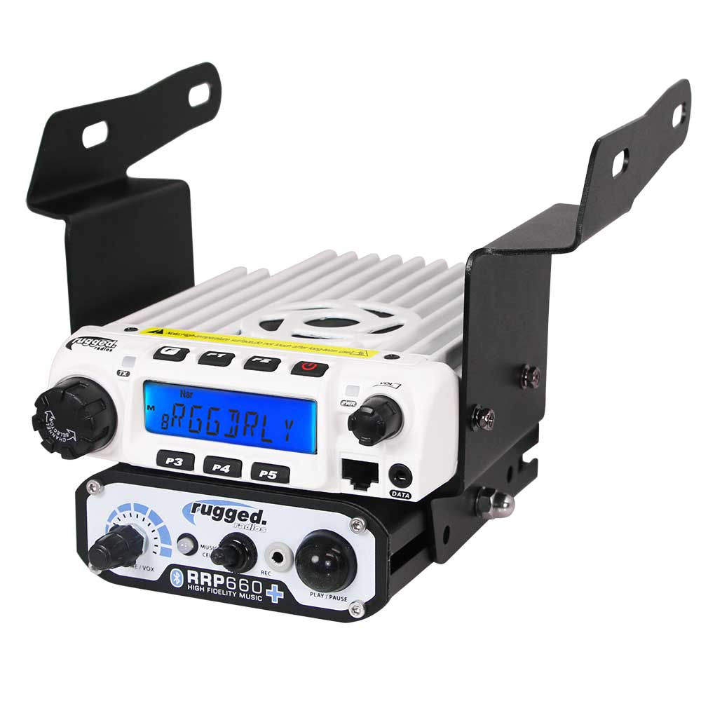 Mobile Radio & Intercom Mount for Polaris RZR 570/800/900