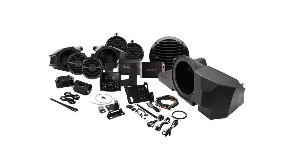 RockFord Fosgate RZR Stage 4 Kit