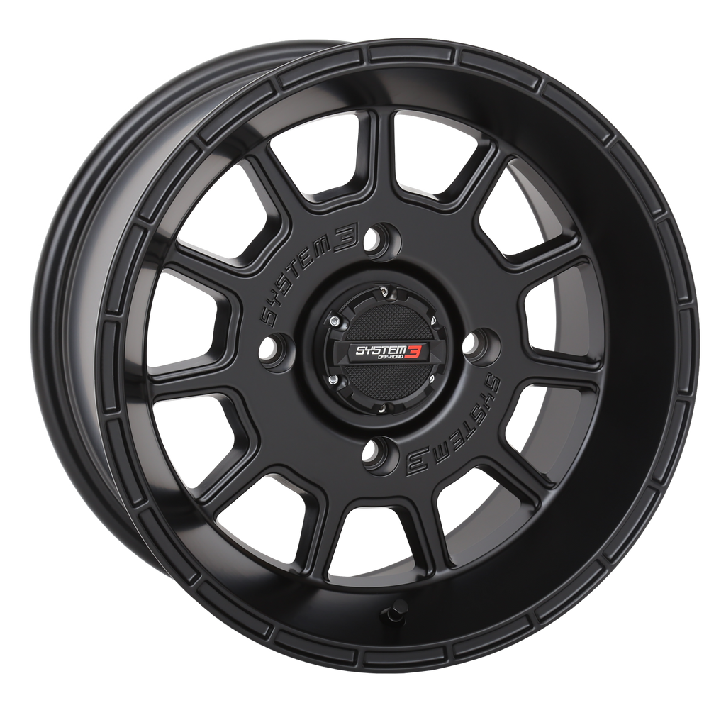 System 3 Off-Road ST-5 Aluminum Wheels - Matte Black