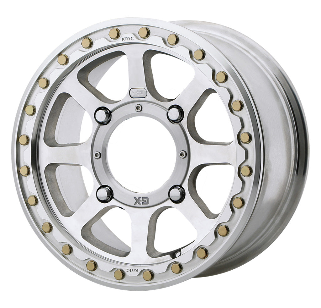 KMC XS234 Addict 2 Beadlock Wheel - Machined