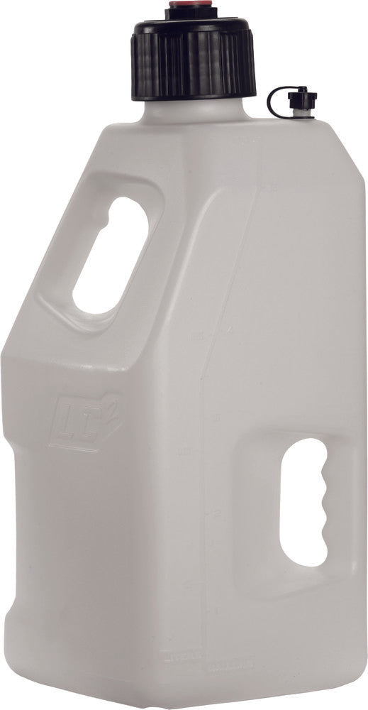 LC White LC2 5 Gallon Utility Jug with hose