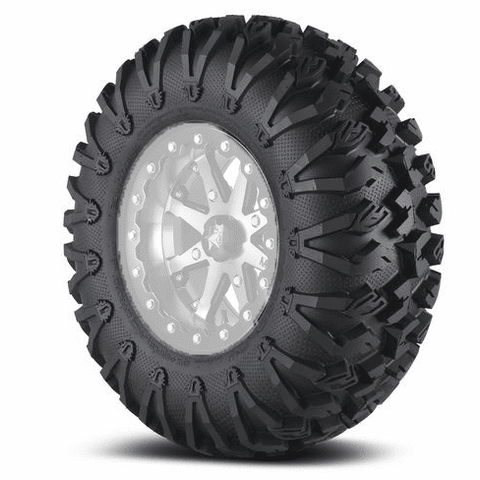 "MSA M31 14"" Beadlocks and 32"" EFX Motovators Tire Package for 4x137"