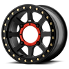 KMC XS234 Addict 2 Beadlock Wheel - Satin Black