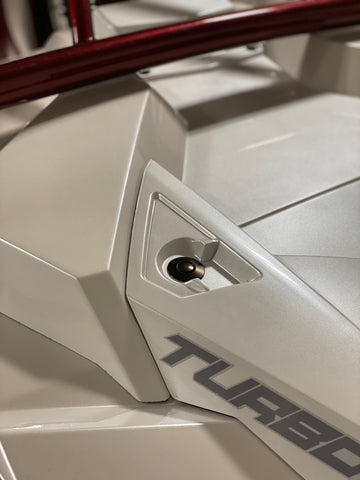 Turbo RZR Hood Pin Kit