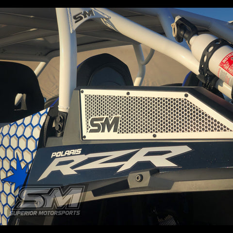 Superior Motorsports Side Vent Covers Polaris RZR XP TURBO 17-19