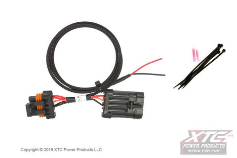 Polaris RZR XP Plug & Play Power out - License Plate Or Whip
