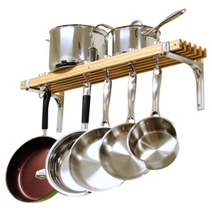 Wall Mounted Pot Racks