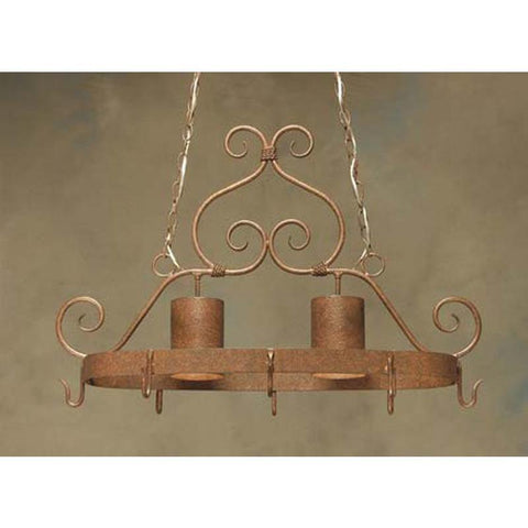 2nd Ave Lighting Argus Pot Rack - Premier Pot Racks