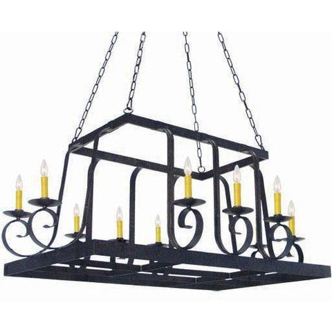 2nd Ave Lighting Maura Pot Rack - Premier Pot Racks