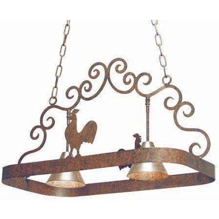 2nd Ave Lighting Poulet Pot Rack - Premier Pot Racks