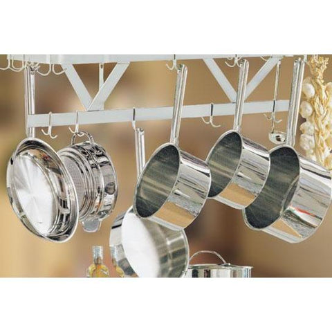 84 Inch Ceiling Mounted Pot Rack