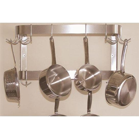 Advance Tabco Double Bar Wall Mounted Pot Rack - Premier Pot Racks