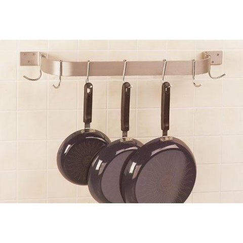 Advance Tabco Single Bar Wall Mounted Pot Rack - Premier Pot Racks