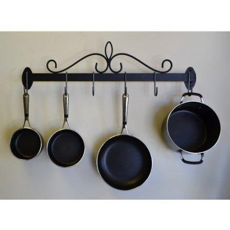 J&J Wire Wall Pot & Pan Rack - Premier Pot Racks
