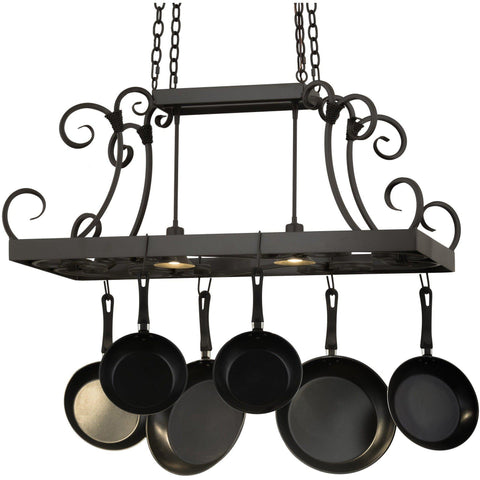 Meyda Lighting Caiden Pot Rack - Premier Pot Racks