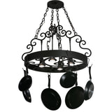"Meyda Lighting Dior 32""W Pot Rack - Premier Pot Racks"
