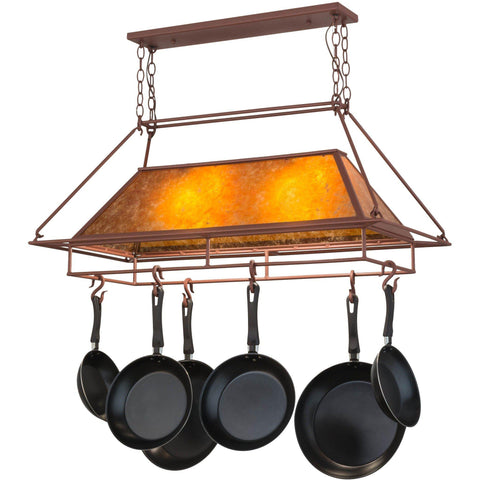 Meyda Lighting Mission Prime Pot Rack - Premier Pot Racks