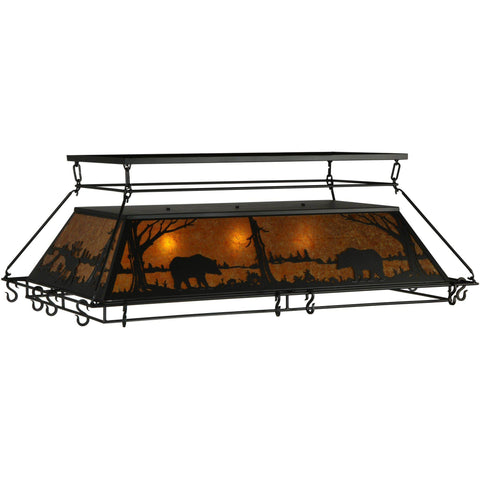 Meyda Lighting Wildlife at Pine Lake Pot Rack - Premier Pot Racks