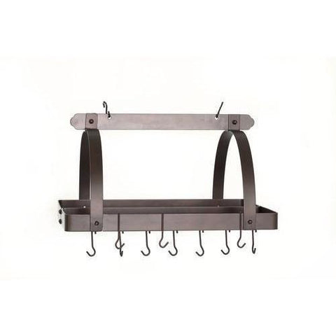 "Old Dutch 30"" Rectangular Hanging Pot Rack - Premier Pot Racks"