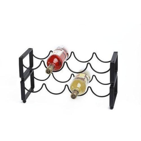 Old Dutch 4 Bottle Stackable Wine Rack - Premier Pot Racks