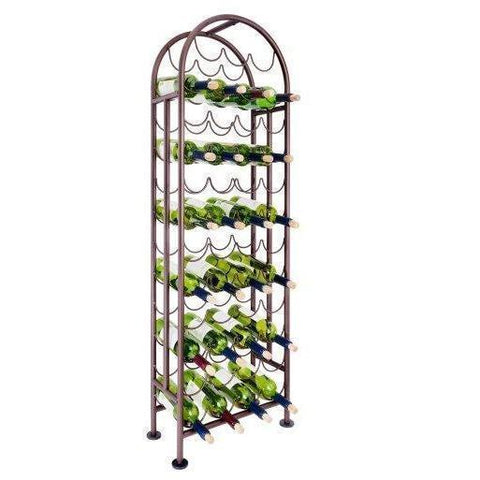 Old Dutch 47 Bottle Metal Wine Rack - Premier Pot Racks