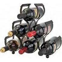 Old Dutch 6 Bottle Iron Wine Rack - Premier Pot Racks