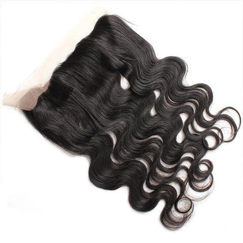360° Lace Closure Brasilianisches 100% REMY Haar Body Wave