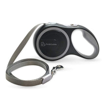 Load image into Gallery viewer, 16 Foot Retractable Pet Leash - Grey - Small/Medium