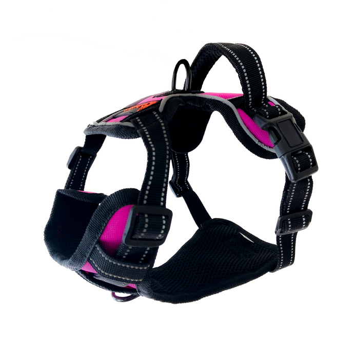 Easy Walk No-Pull Soft Adjustable Dog Harness - Pink/Small