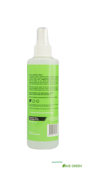 Auto Disinfectant Waterless Carwash Fingertip Spray 8oz bottle
