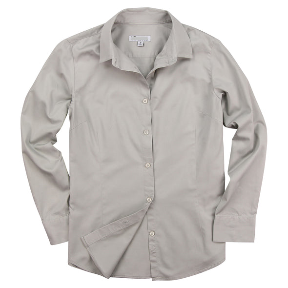 Women's Button Up Long Sleeve Cotton Shirt