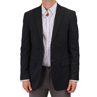 Mens Casual Blazer / Sport Coat (Deep Navy)