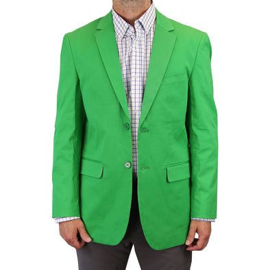 Mens Casual Blazer / Sport Coat (Green)