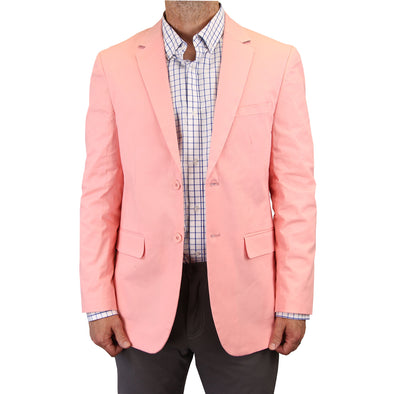 Mens Casual Blazer / Sport Coat (Pink)