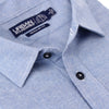 Men's Classic Brushed Chambray Shirt (Regular & Slim Fit)