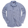 Men's Classic Brushed Chambray Shirt (Regular Fit)