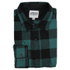 Men's Classic Flannel Shirt point black green