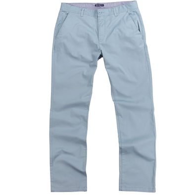 Mens Stretch Flat Front Casual Pants - Sea Foam Blue