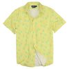Lightweight Men's All Over Pineapple Print Beach Shirt