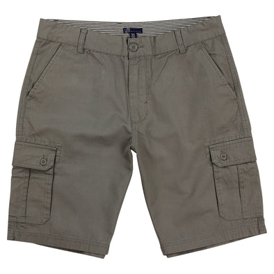 "Urban Boundaries brand cargo short - gray - men's 10"" inseam"